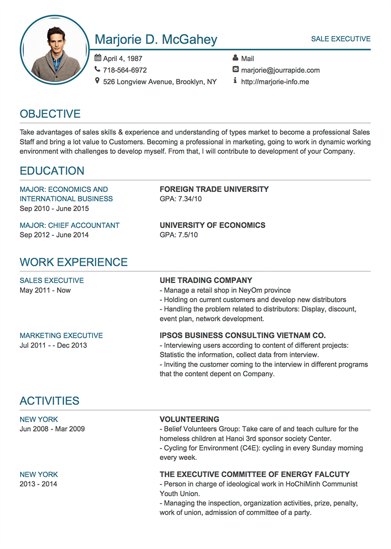 Professional resumecv templates with examples topcv modern 1 cv template premium yelopaper Images