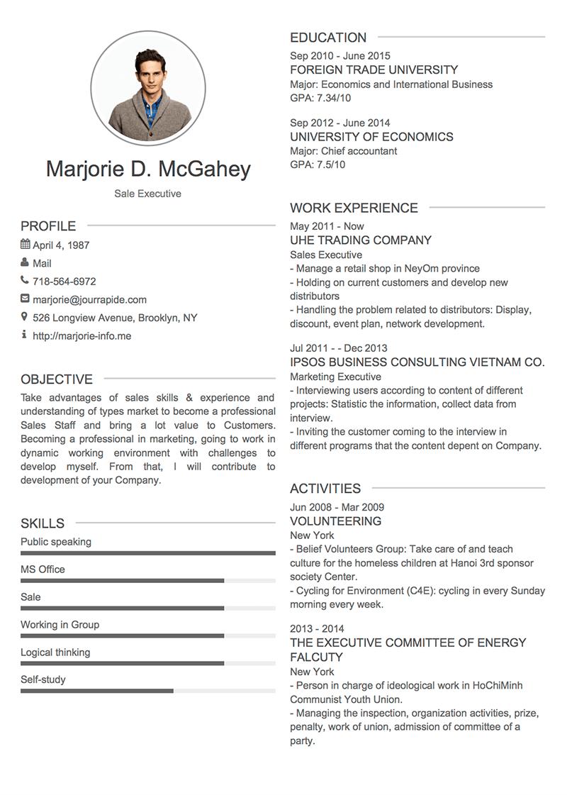 template-cv-Modern 2