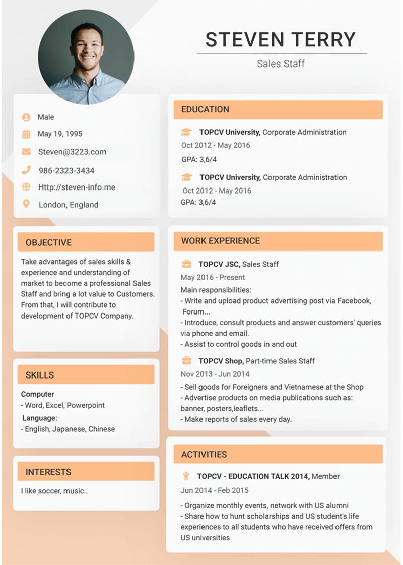 template-cv-Outstanding 6